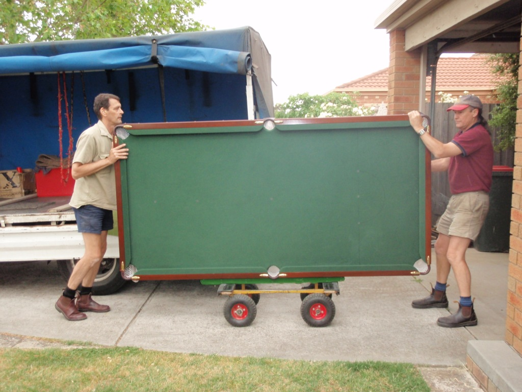 Pool Table Relocation Bendigo
