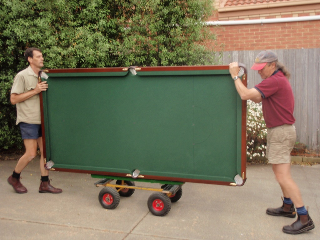 Billiard Table Movers Melbourne Professional Pool Table