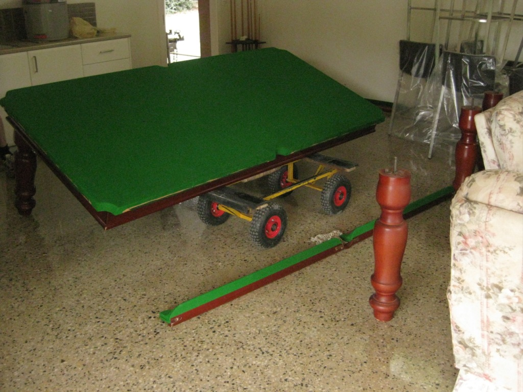 Hal Jones Billiard Transport